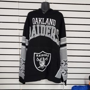 Oakland Raiders sweater with hood